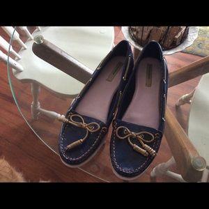 Isaac Mizrahi Live Boat Shoes