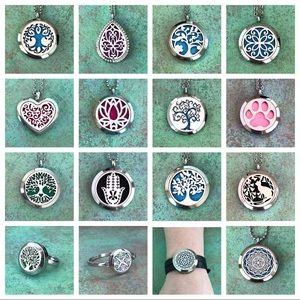 Accessories - Essential Oil Diffuser Jewelry