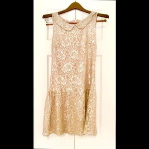 Dresses & Skirts - 🍾Peter Pan Party Dress (Champagne)