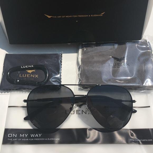 3555e302e7 Luenx aviator sunglasses