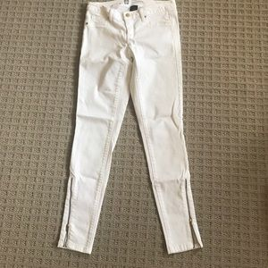 Mossimo white denim legging size 2
