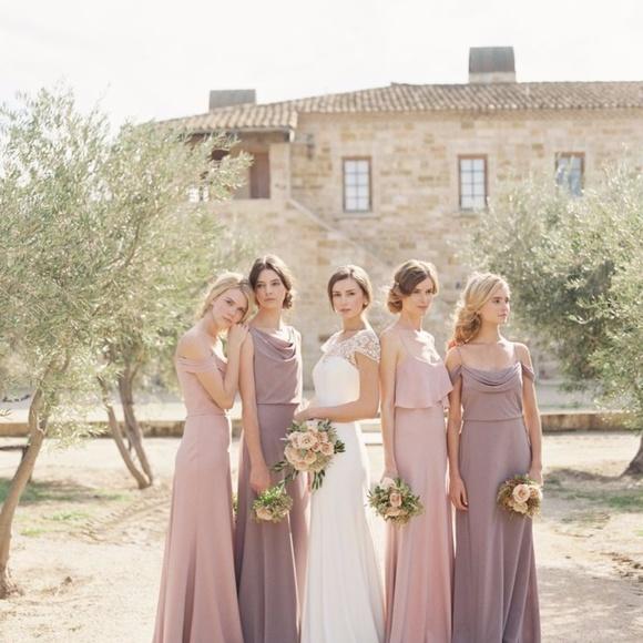 99f6969c2 Jenny Yoo Dresses & Skirts - Jenny Yoo Blake Whipped Apricot