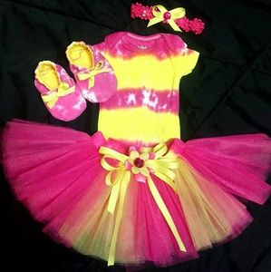 030fd5b590d07 Other - Infant tie dye tutu skirt outfit