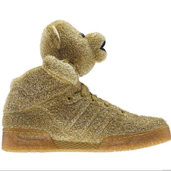 Jeremy Scott x Adidas Other - Jeremy Scott xAdidas Gold Tinsel Teddy Bears. df78c596b2af