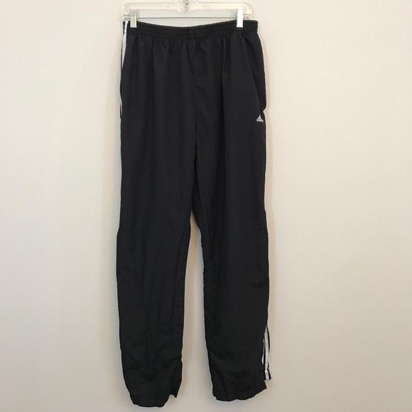 $10 CLOSET SALE❗️Adidas Black Wind Pants