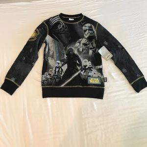 Disney Star Wars Sweatshirt Size 9/10 NWT