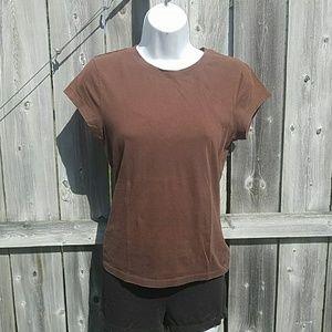Casual Brown T-Shirt