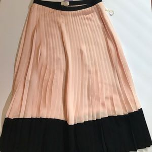 edead1f76 kate spade Skirts - NWT! 💫HP💫Kate Spade Pink and Black Pleated Skirt