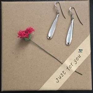 Jewelry - STERLING SILVER WITH MOTHER OF PEARL EARRINGS