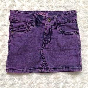 Mudd Acid Mineral Wash Jean Skirt Girls Size 5 New