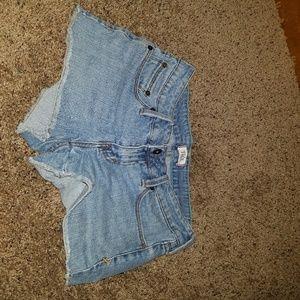 Pants - Blue jeans shorts