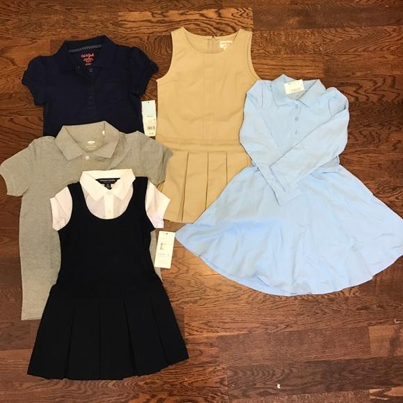 73fc456fa Girls Toddler School uniform lot! NWT size 4t-5t