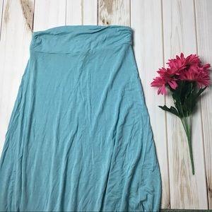 Dresses & Skirts - Baby Blue Floor Length Maxi Skirt
