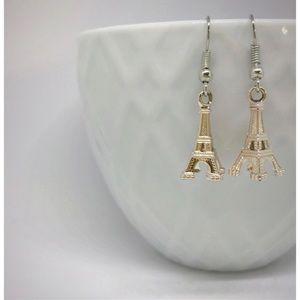 🆕✈️Rose gold Eiffel Tower earrings
