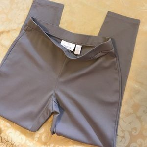 Chico's Leggings Taupe Fall Stretch