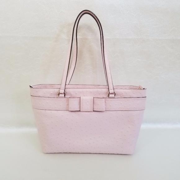 Kate Spade Bridged Valencia Road Pink Bow Tote Bag f8f715a57e66f