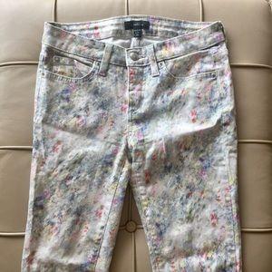 {Bebe} watercolor jeans