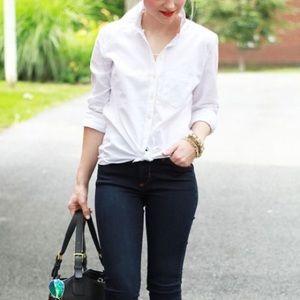 GAP button down women's oxford shirt
