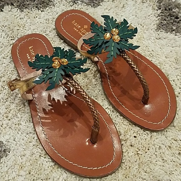 3feec9812701 kate spade Shoes - NWOT Kate Spade Solana Palm Tree Sandals