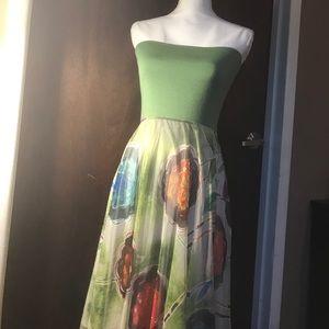 Streps less lapis dress