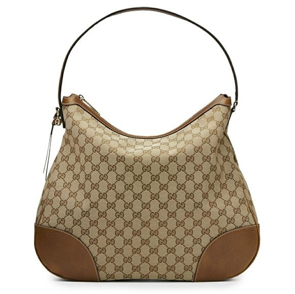 d690b4271bc Gucci Handbags - Gucci Bree Original GG Canvas Hobo Bag