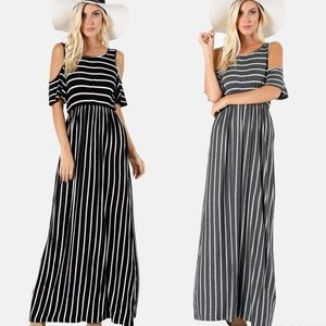 SHILOH Stripe Maxi Dress - 2 colors