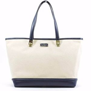 Kate Spade Oliver Street Canvas Taren Tote
