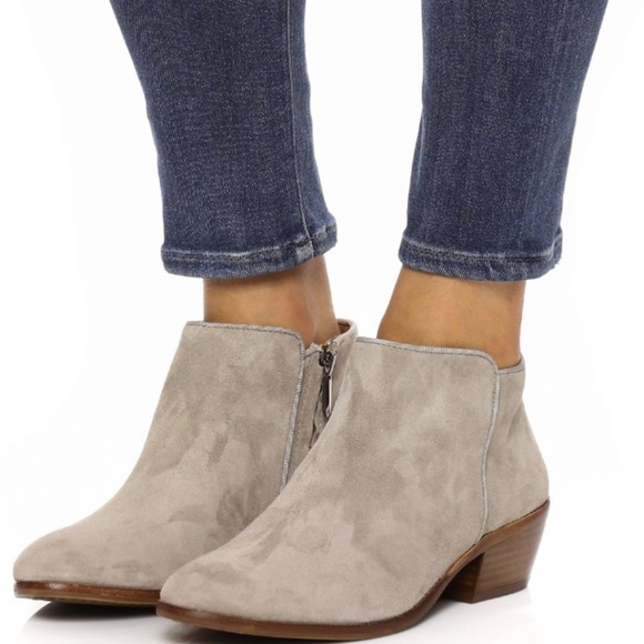 b82f3edaff37c Sam Edelman-Petty Ankle Bootie - Tan Putty Suede