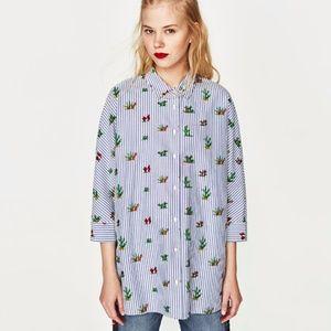 Zara Cactus Blouse