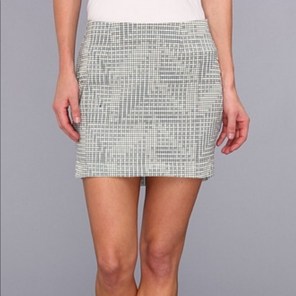 BCBGeneration Skirts Geo Patterned Mini Skirt Poshmark Classy Patterned Mini Skirt