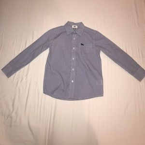 Old Navy Boys Button Down Shirt Size 8