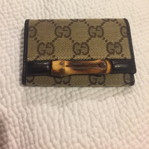 b980488cb5e Gucci Accessories - authentic gucci bamboo keychain!