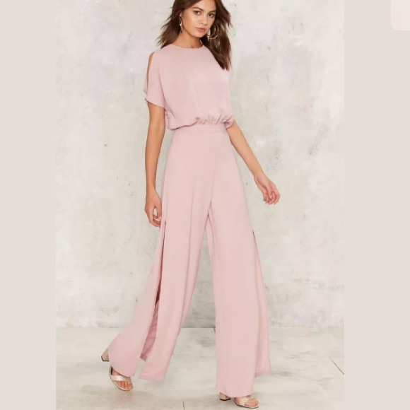 26cbcb8b10e Renamed Pink Jumpsuit