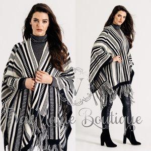 Gorgeous Premium Quality Poncho Wrap Sweater