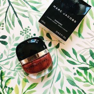 • marc jacobs • enamored red glitter nail polish