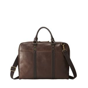 Fossil Estate Leather Document Bag