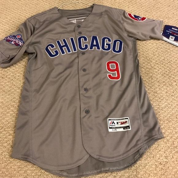 a14fe3ec1 Chicago Cubs World Series champion jersey - Baez