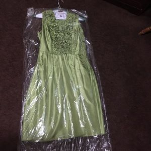 Eliza J  New York Green Party Dress
