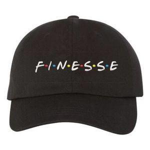 TSV Jewelers Accessories - Black Finesse Dad Hat Baseball Cap 539fa27f413a