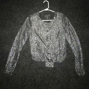Sparkly guess jacket