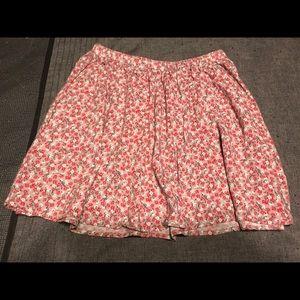 Girl's Floral Skater Skirt