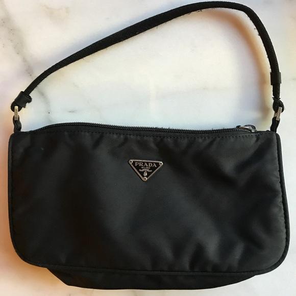 Prada Black Tessuto small bag. M 598af9c82de5122b7a14dc53 be918c3e1d