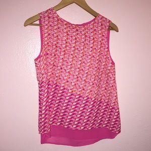 NWT Pink Dress Blouse