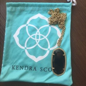 Black and gold Kendra Scott necklace!!!!
