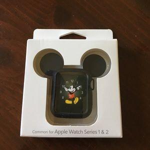 Accessories - Mickey Apple Watch black case 38MM NWT