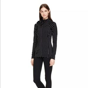 SOLD --- ✅ NWT Kate Spade Yoga Bow zip Top Small