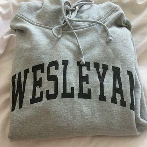 Other - Wesleyan university size small unisex sweatshirt