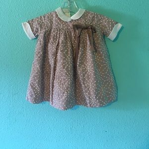 Embroidered Stella baby dress