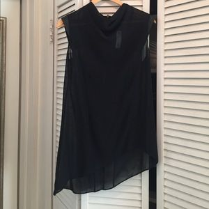 Helmut Lang asymmetrical top - NEW WITH TAG