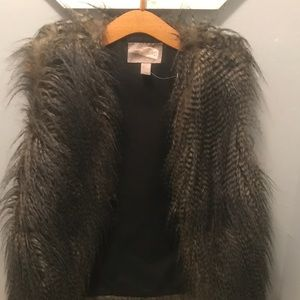 Jackets & Blazers - Faux Fur trendy Vest
